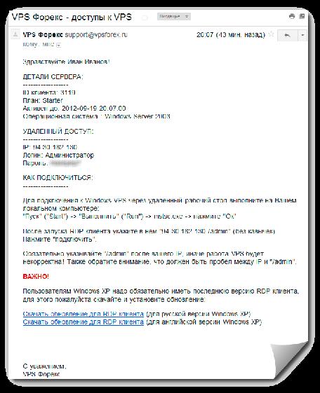 Forex vps бесплатно